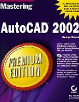Mastering AutoCAD 2002 Book - Hardcover: 1696 pages, Publisher: Sybex (November 13, 2001), Language: English, ISBN-10: 0782129064