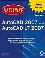 Mastering AutoCAD 2007 Book - Paperback: 1224 pages, Publisher: Sybex (August 7, 2006), Language: English, Product Dimensions: 9.1 x 7.4 x 2.3 inches.