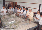 Architectural Model of Tourist Complex-04