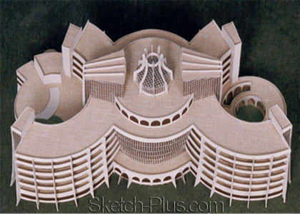 Building Architectural Models model building