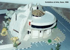 Architectural Model of Exhibition of Arts-02
