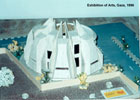 Architectural Model of Exhibition of Arts-04