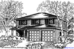 House Sketches: 581 Harmony Avenue, Burlington