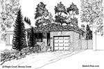 Architectural Sketch: 23 Regis Court, Stoney Creek