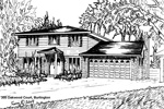 House Sketch of 305 Oakwood Court, Burlington