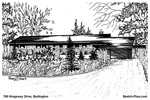 House Sketches: 760 Kingsway Drive, Burlington