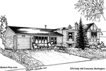 House Sketches: 579 Holly Hill Crescent, Burlington