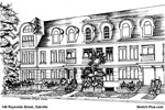 House Sketch of 148 Reynolds Street, Oakville