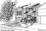 House Sketches: 3462 Hannibal Road, Burlington