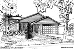 Sketch of House: 2379 Parkway Drive, Burlington