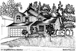 House Sketch of 811 Brigadoon Drive, Hamilton