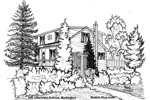 House Sketches: 1050 Clearview Avenue, Burlington