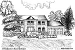 Architectural Sketch: 3110 Lakeshore Road, Burlington