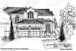 House Sketches: 4184 Stonebridge Crescent, Burlington.