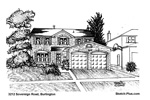 House Sketches: 3212 Sovereign Road, Burlington