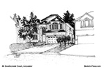 House Sketch of 88 Southcreek Court, Ancaster