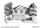 House Sketches: Unit 5 - 2940 Headon Forest Drive, Burlington