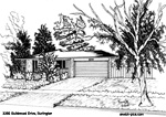 Sketch of House: 3395 Guildwood Drive, Burlington