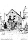 House Sketch of 18 Murray Street East, Hamilton