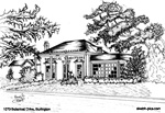Architectural Sketch: 1070 Botanical Drive, Burlington