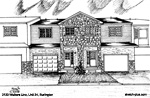 House Sketches: 2123 Walkers Line, Unit 24, Burlington
