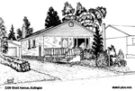 House Sketch of 2209 Ghent Avenue, Burlington