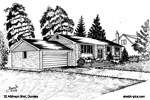 Architectural Sketch: 20 Atkinson Blvd, Dundas