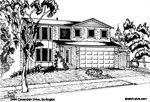 House Sketch of 2494 Cavendish Drive, Burlington