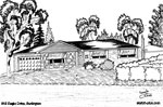 Architectural Sketch: 846 Eagle Drive, Burlington