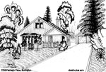 Sketch of House: 2235 Fairleigh Place, Burlington