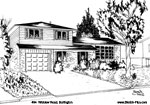 House Sketches: 494  Wicklow Road, Burlington
