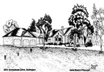House Sketch of 2614 Homestead Drive, Burlington