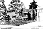 House Sketches: 564 Dynes Road, Burlington