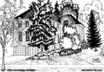 House Sketches: 2292 Hemmingway, Burlington