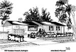 Sketch of House: 498 Rosedale Crescent, Burlington