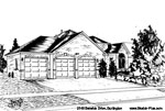 Architectural Sketch: 2145 Berwick Drive, Burlington
