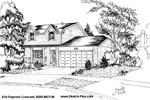Sketch of House: 626 Empress Crescent, BURLINGTON
