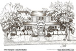 Architectural Sketch: 3154 Hampton Court, Burlington