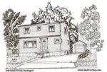 Sketch of House: 2361 New Street, Burlington