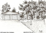 Sketch of House: 1387 Beaufort Drive, Burlington