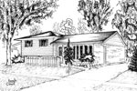 House Sketch of 614 Bridle Wood, Burlington