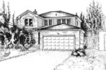 House Sketches: 4149 White Birch Circle, Burlington